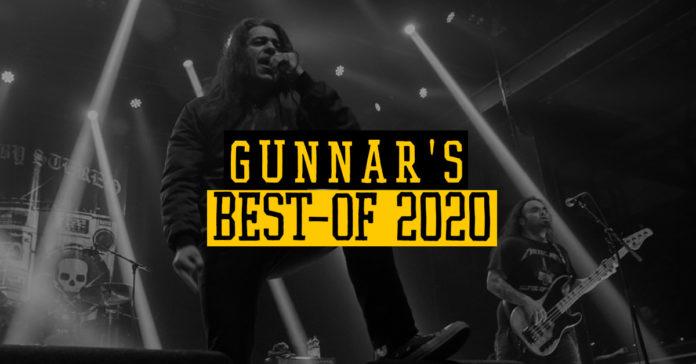 Gunnars Jahresrückblick (Das Bild zeigt Death By Stereo)