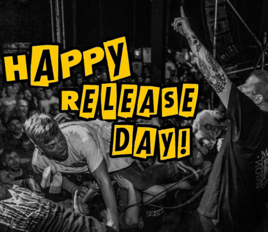 Happy Release Day (Photo by Jörg Baumgarten of Kuckuck Artworks - Comeback Kid, Leipzig)