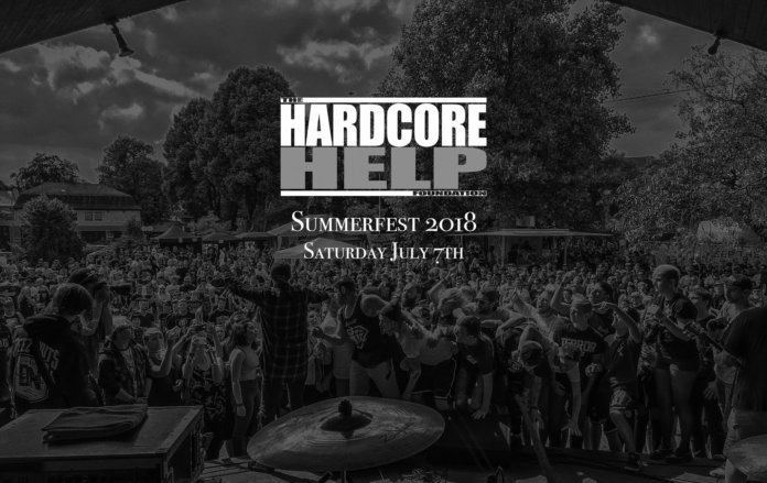 Hardcore Help Foundation Summerfest 2018