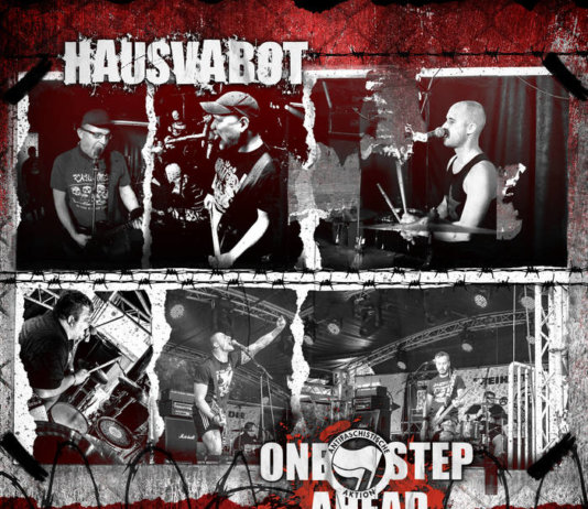 Hausvabot / One Step Ahead - Split EP (2020)