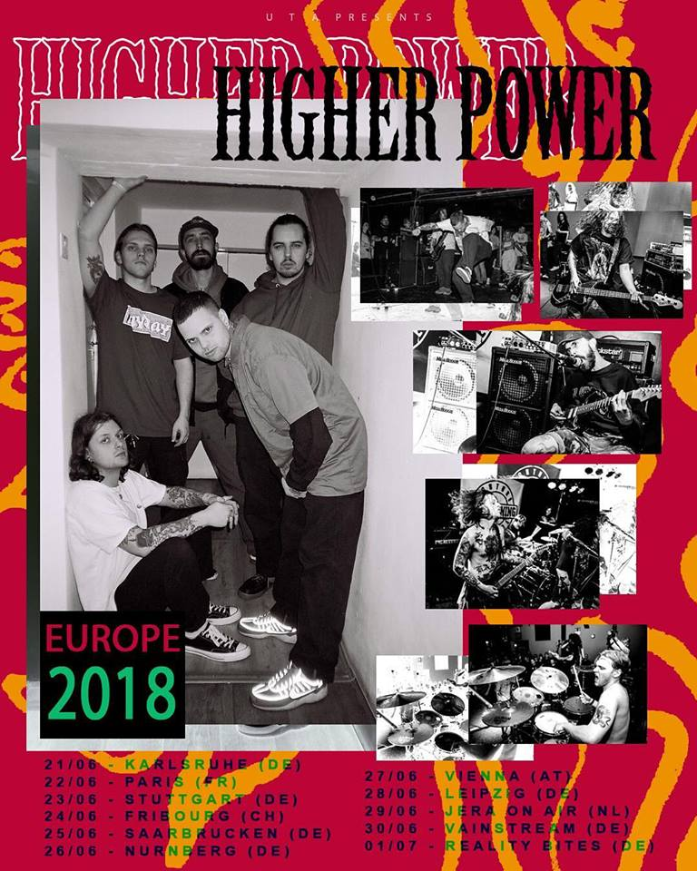 Higher Power - Tour 2018