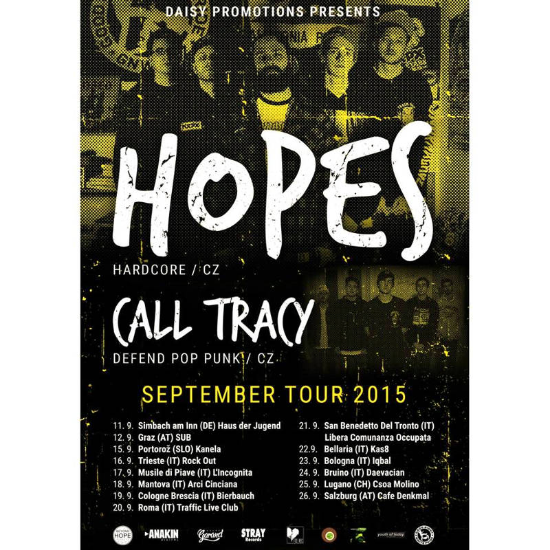 Hopes - Tour 2015