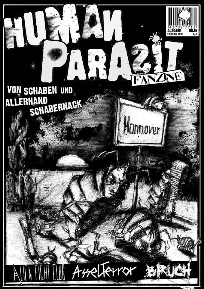 Human Parasit Fanzine - Nr. 16