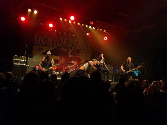 Sick Of It All, 5 - 12.11.2019 - Arena, Wien