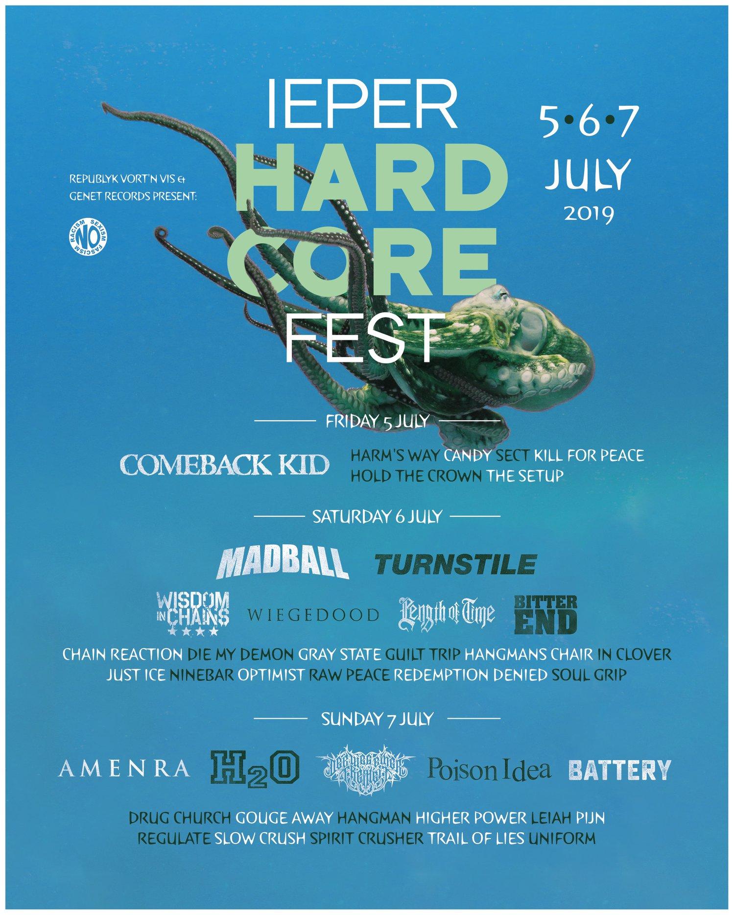 Ieper Hardcore Fest 2019