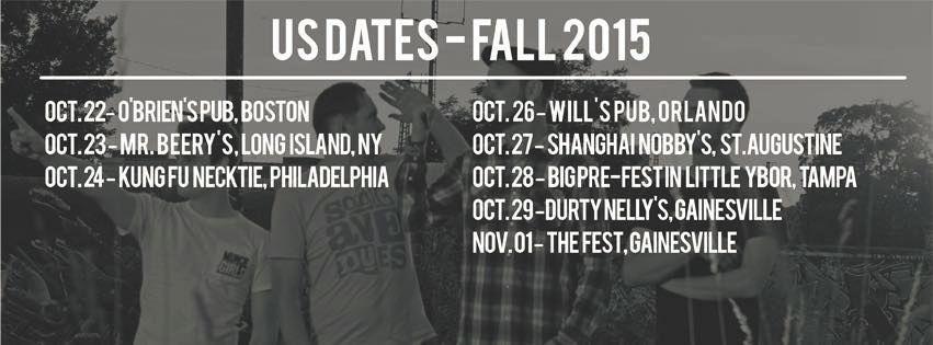 Irish Handcruffs - USA - Tour 2015