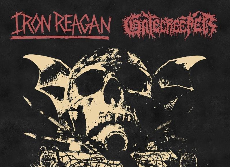 Iron Reagan - Gatecreeper - Split