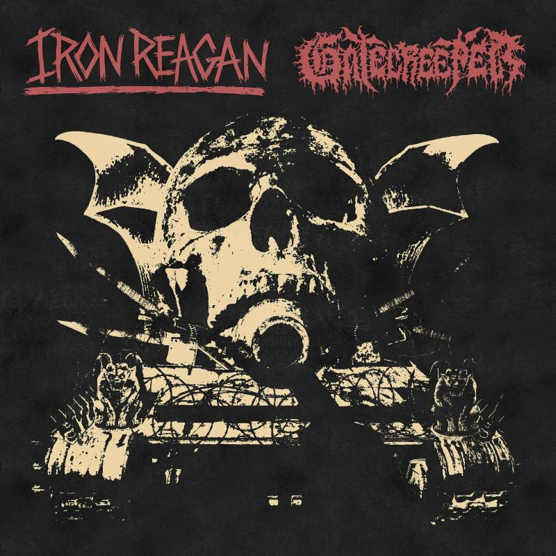 Iron Reagan - Gatecreeper - Split