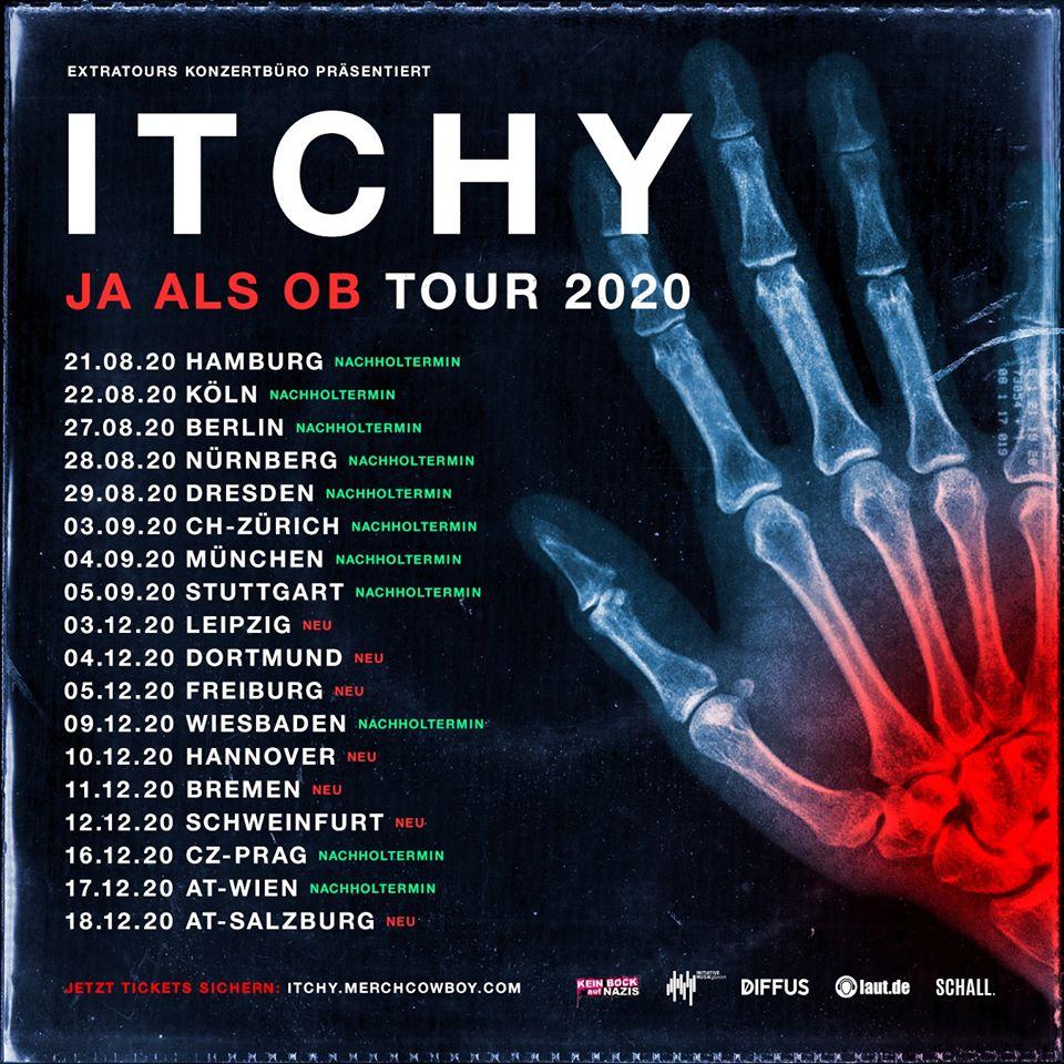 "Itchy - ""Ja als ob""-Tour 2020"