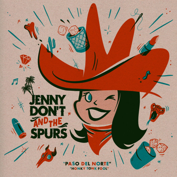 Jenny Don't And The Spurs - Paso Del Norte (2019)