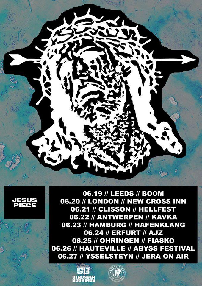 Jesus Piece - Europa-Tour 2020