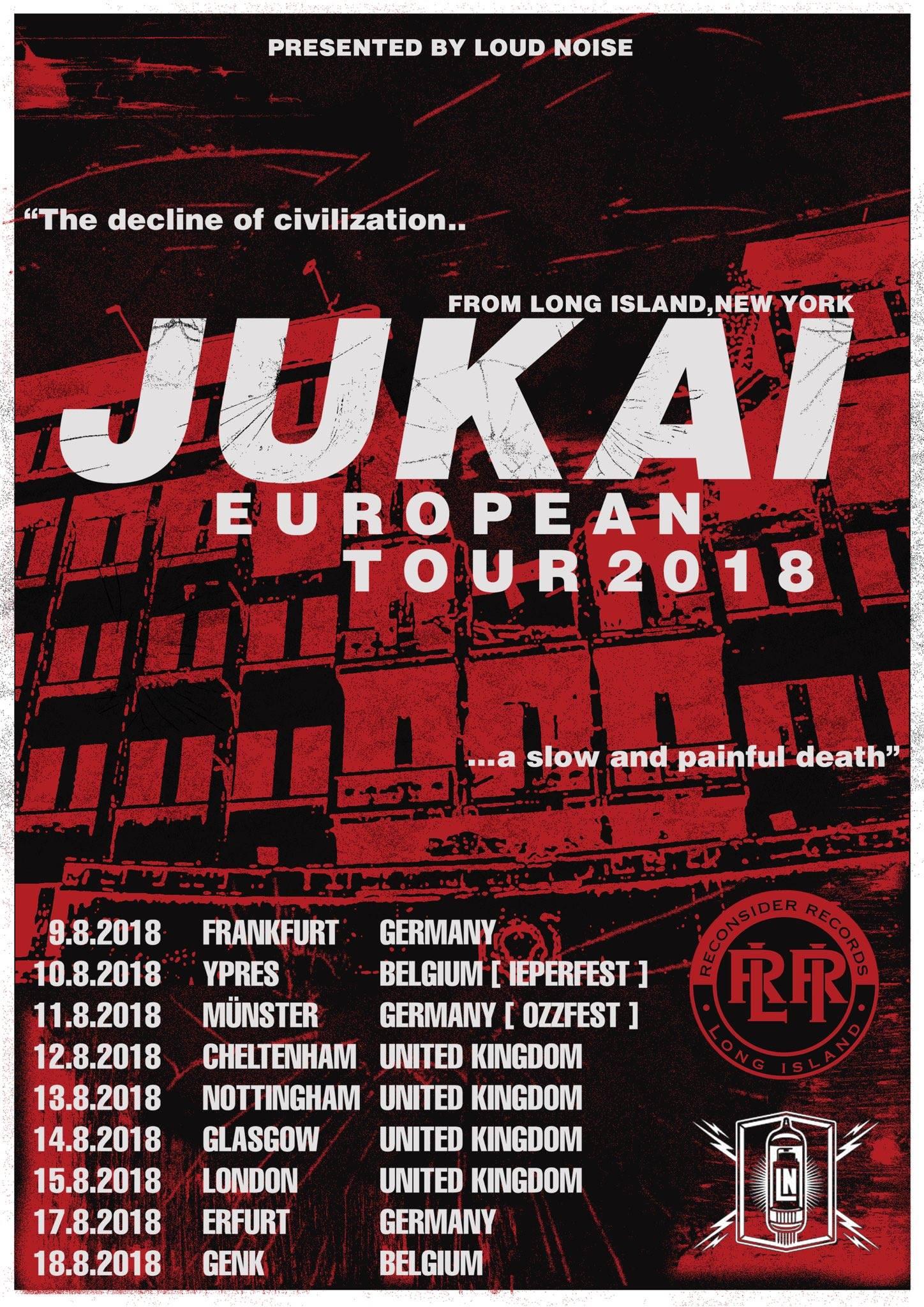 Jukai - Europa-Tour 2018