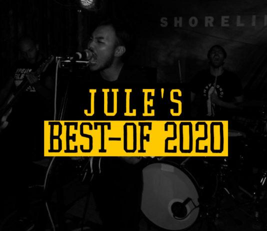 Jule's Jahresrückblick 2020 (Bild zeigt die Band Shoreline)