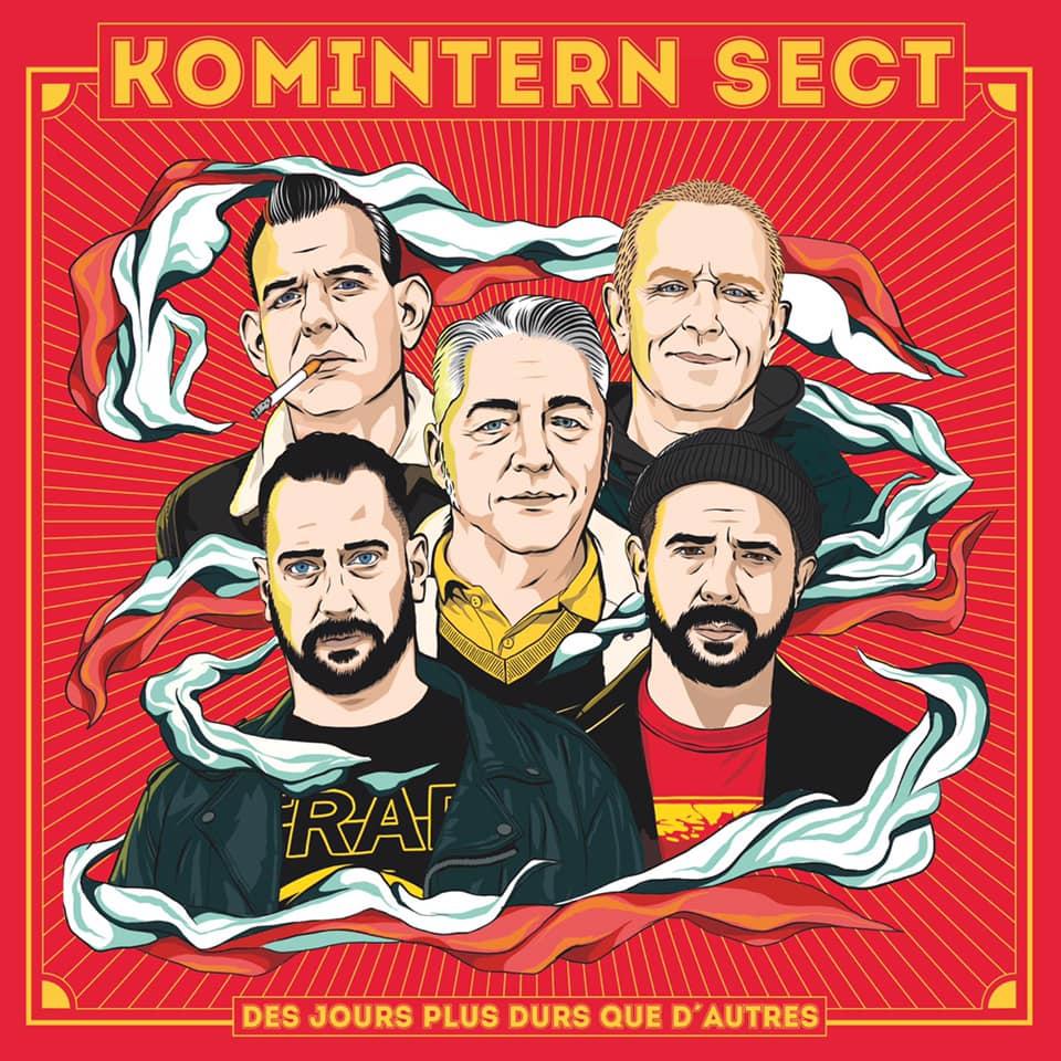 Komintern Sect - Des Jours Plus Durs Que D'Autres (2021)