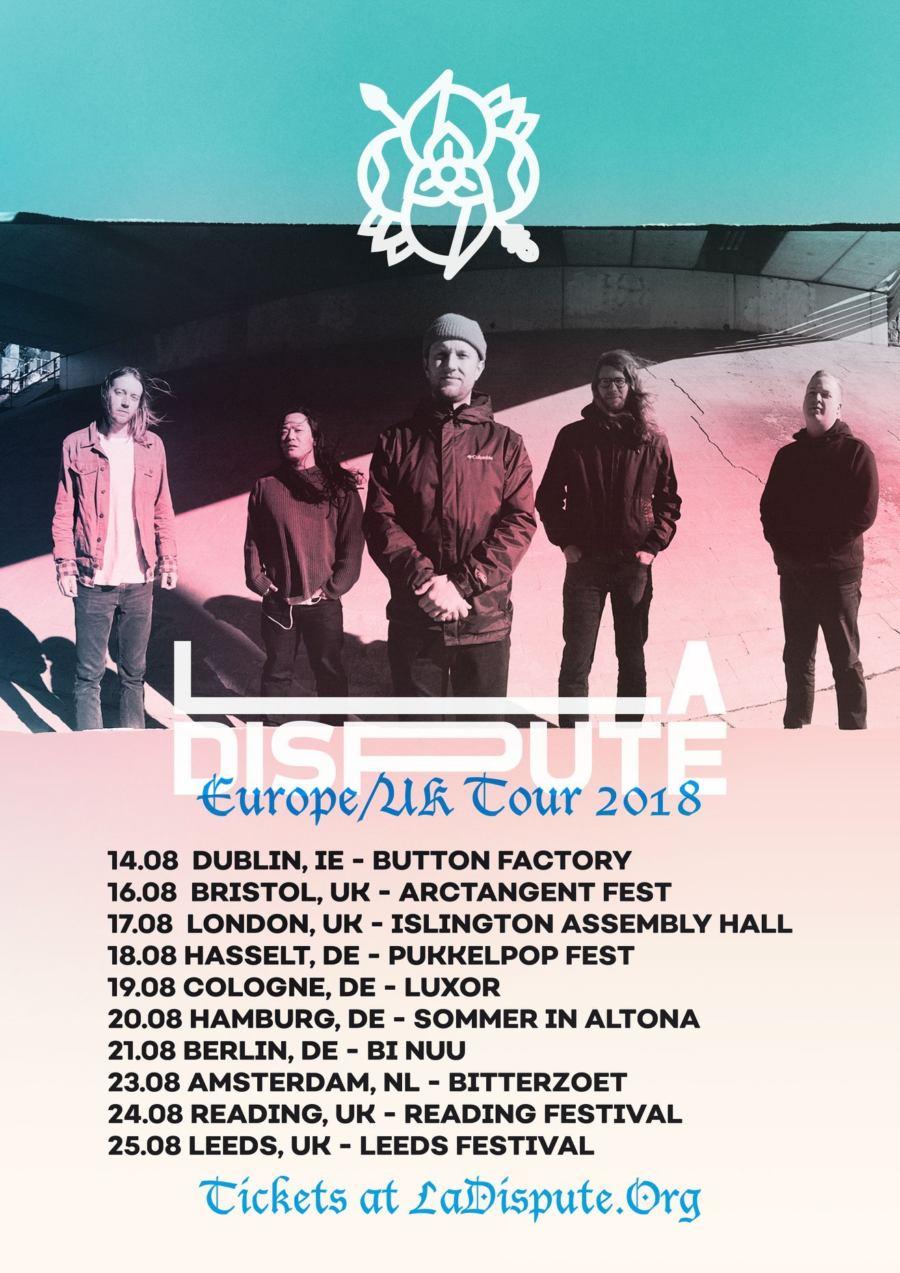 La Dispute - Europa-Tour 2018