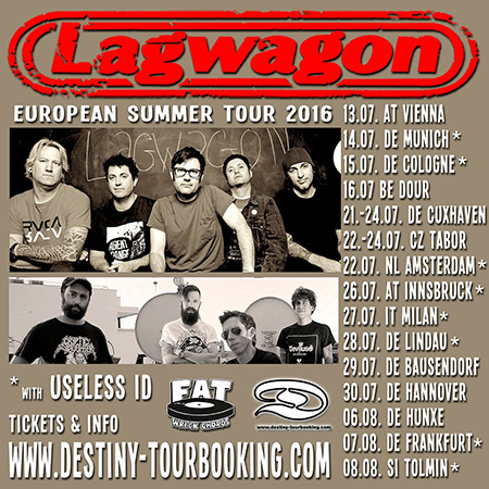 Lagwagon - Tour
