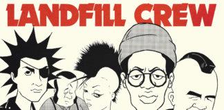 Cover der EP Landfill Crew