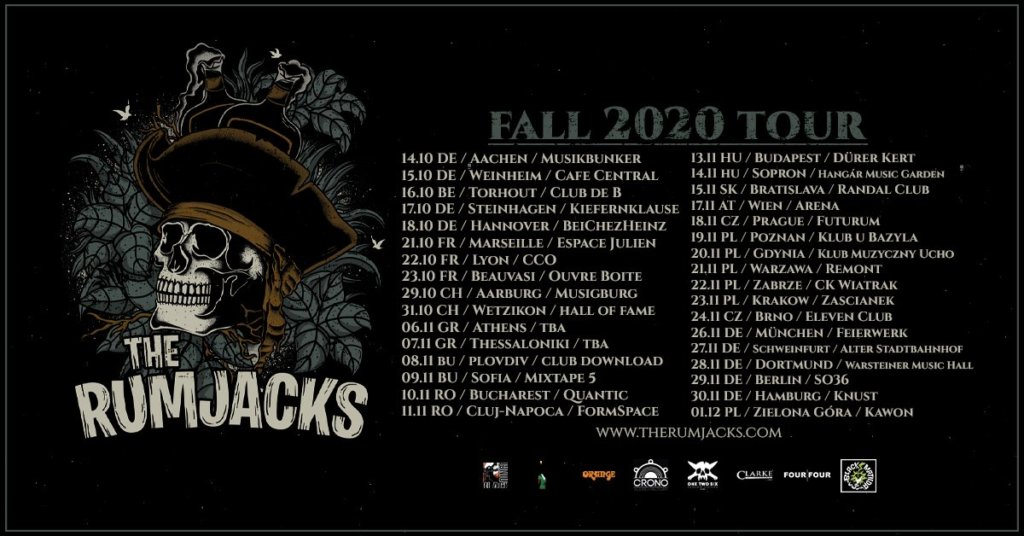 The Rumjacks - Europa-Tour 2020