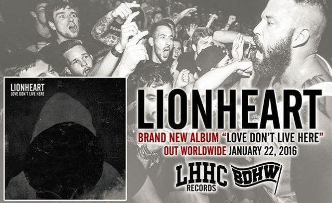 Lionheart - New Album 2016