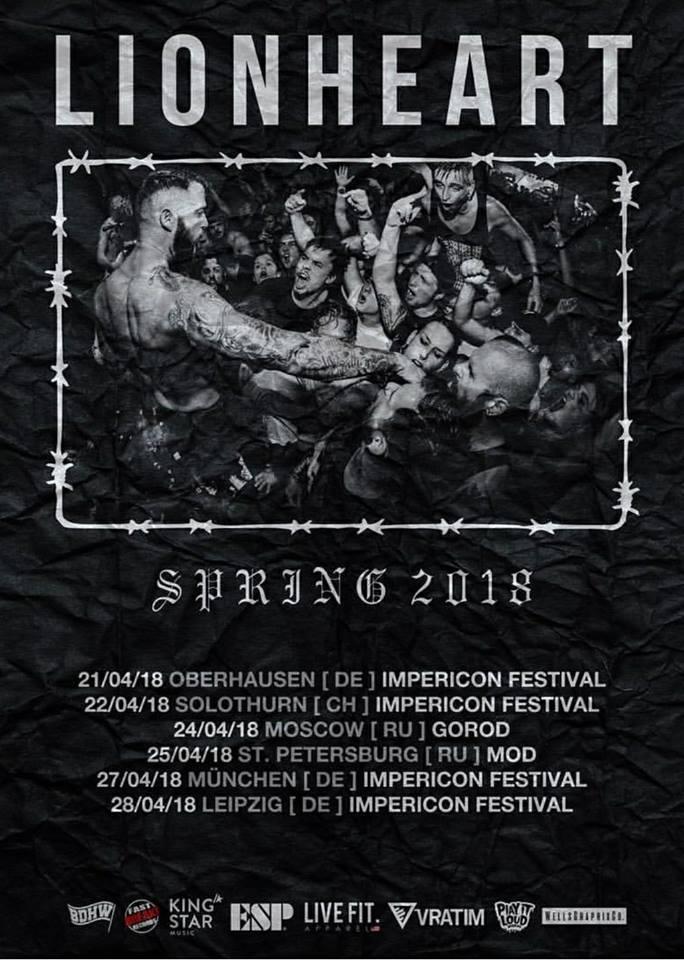 Lionheart Tour - 2018