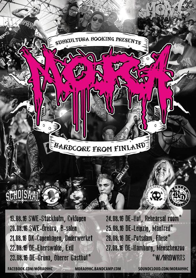M.O.R.A. - Hardcore Tour