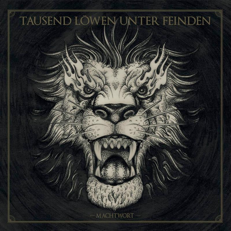 """""""Machtwort"""" - Albumcover des neuen TLUF Albums."""