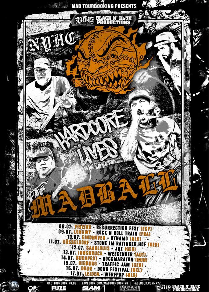 Madball - Tour 2016