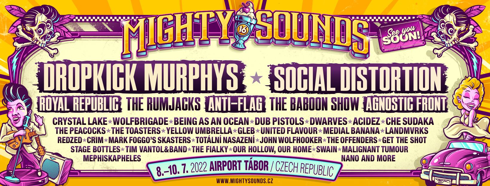 Mighty Sounds 2022 mit erster Bandwelle