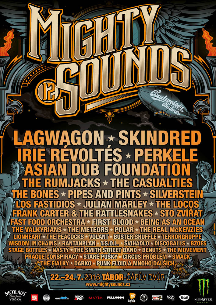 Mighty Sounds Line-Up Flyer 2016