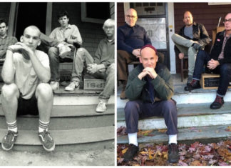 "Bild links Cover von ""Salad Days"" (1985) (Photo by Glen E. Friedman) 