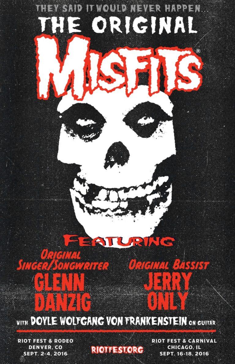 Misfits Reunion GlenN Danzig