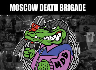 """Moscow Death Brigade (Albumcover """"Flares Are Burning"""")"""
