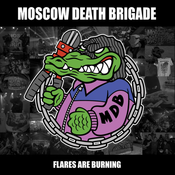 "Moscow Death Brigade (Albumcover ""Flares Are Burning"")"