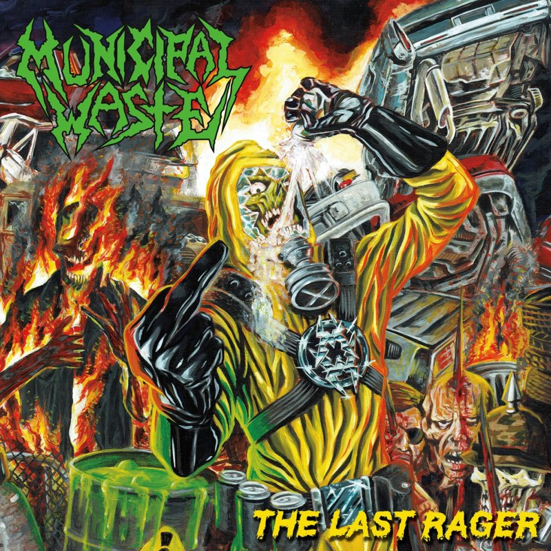 Municipal Waste - The Final Rager (2019)