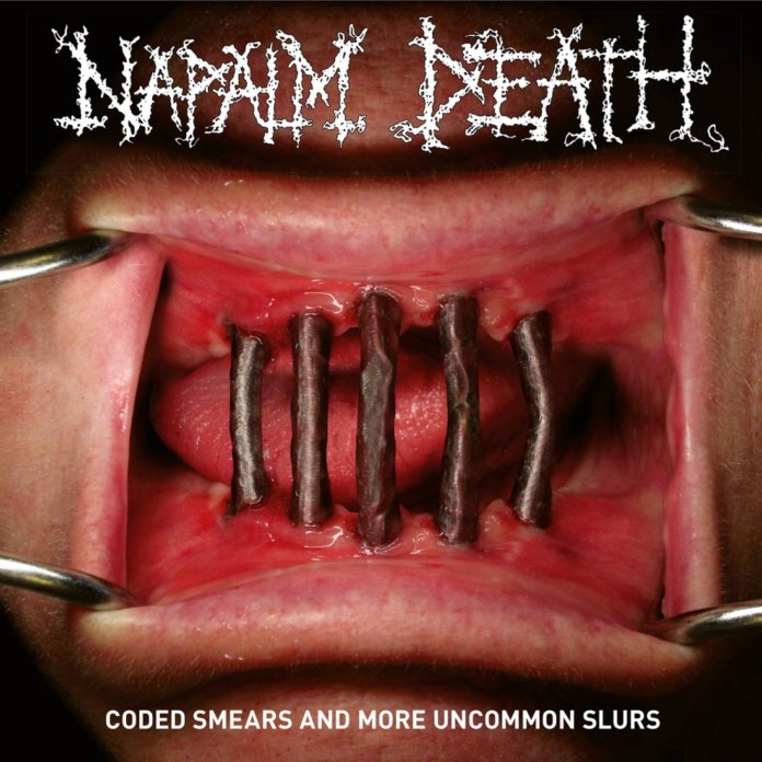 Napalm Death - Coded Smears And More Uncommon Slurs (Cover)