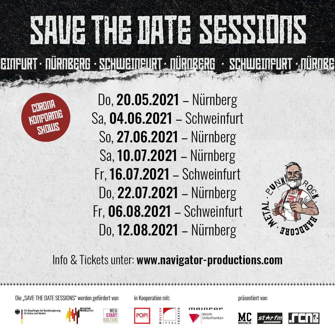 Navigator Save The Date Sessions