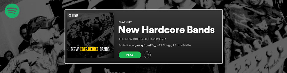 The New Breed of Hardcore - Spotify-Playlist