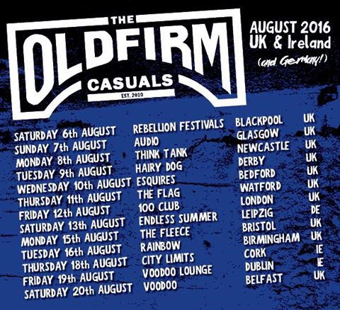 Old Firm Casuals - Euro Tour 2016