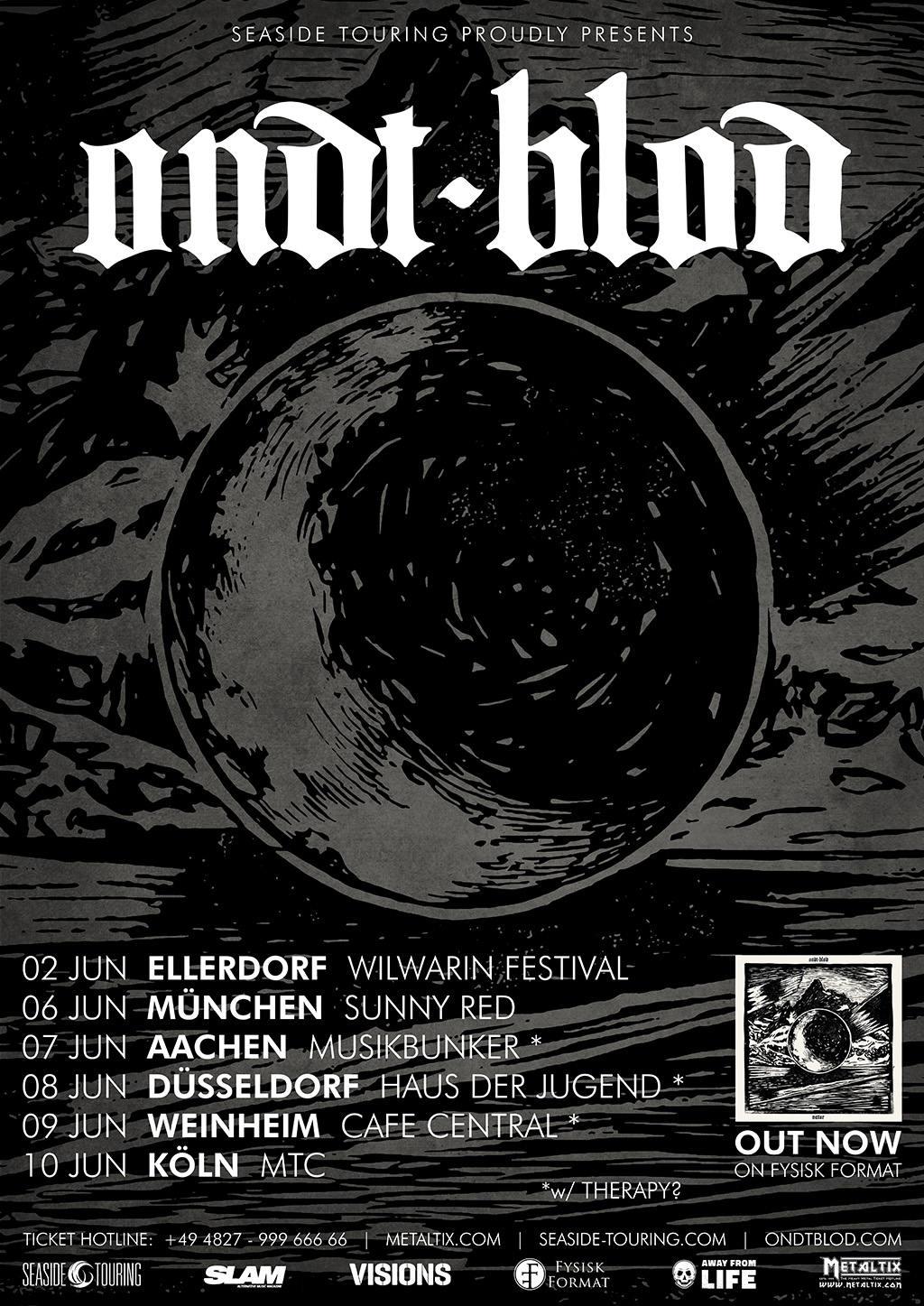 Ondt Blod - Tour 2018