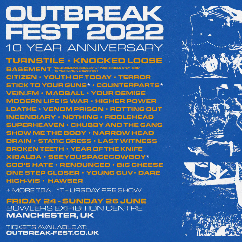 Outbreak Fest 2022 (Updated Flyer)