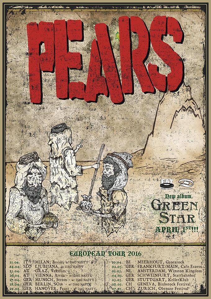 Pears - Europa Tour 2016