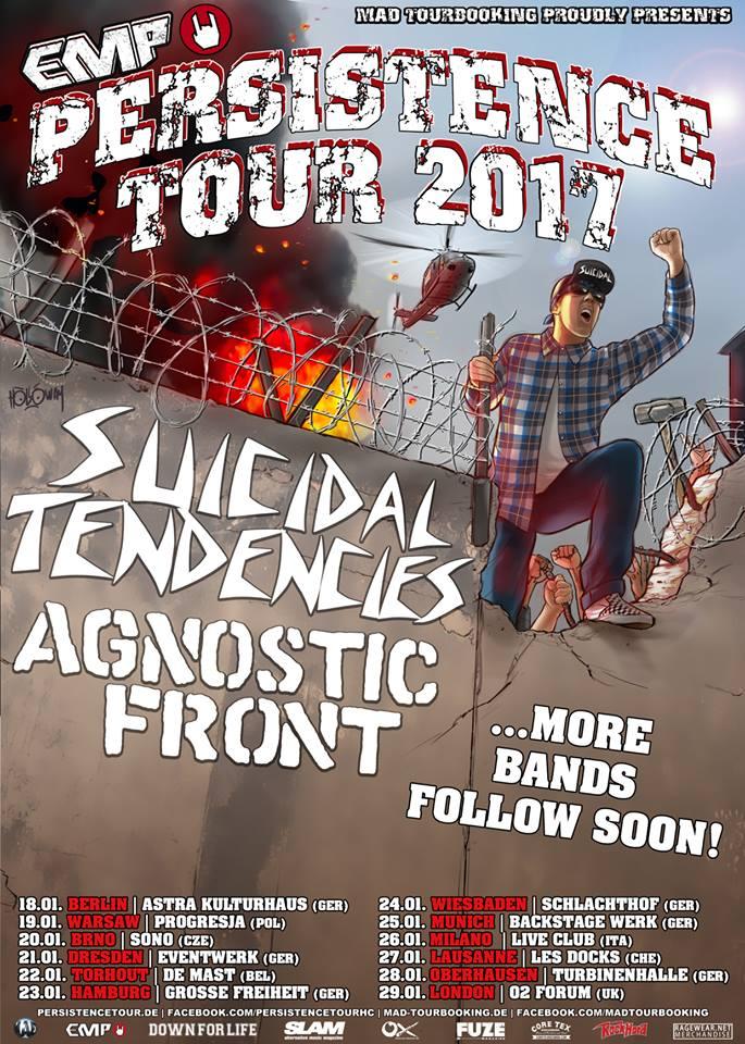Persistence Tour 2017