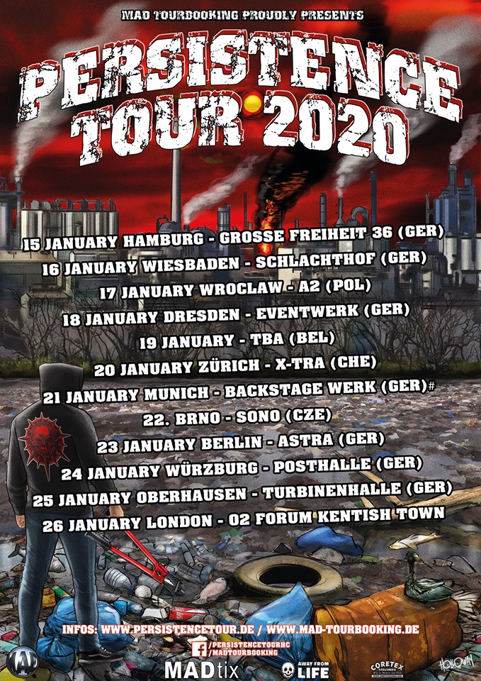 Persistence tour 2020 - Termine