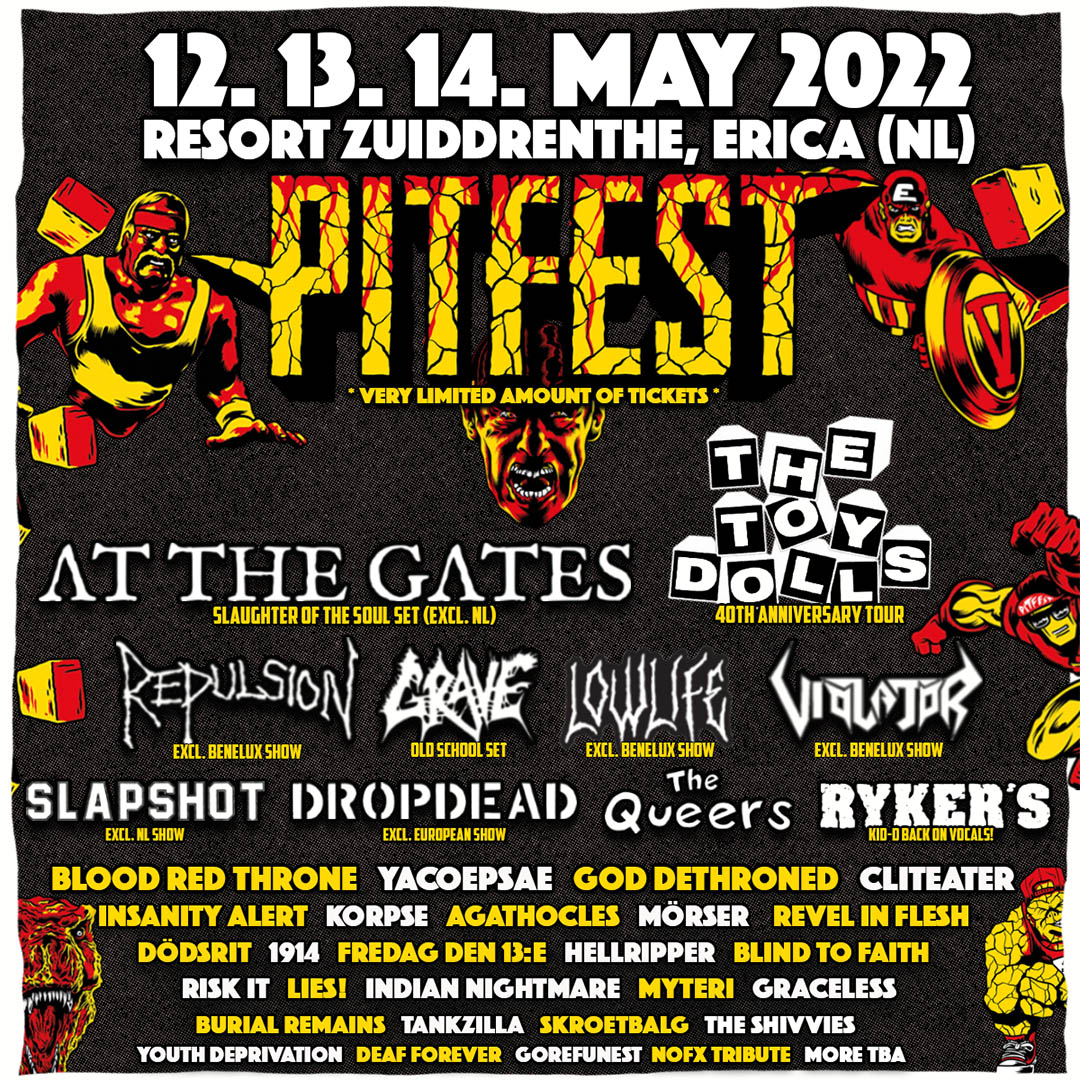 Pitfest 2022 mit ersten Bands