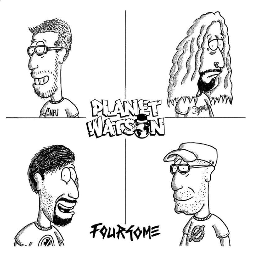 Planet Watson - Foursome (2018)