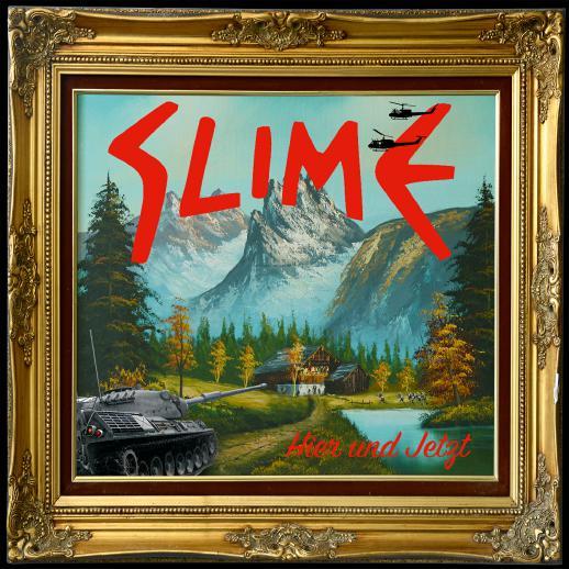 """Cover vom neuen Slime Album """"Hier und jetzt"""""""