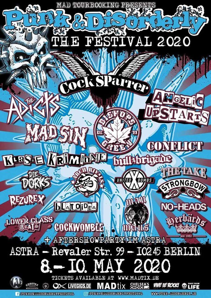 Punk & Disorderly 2020 - Berlin