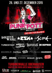 Punk Im Pott 2015 - Line-Up