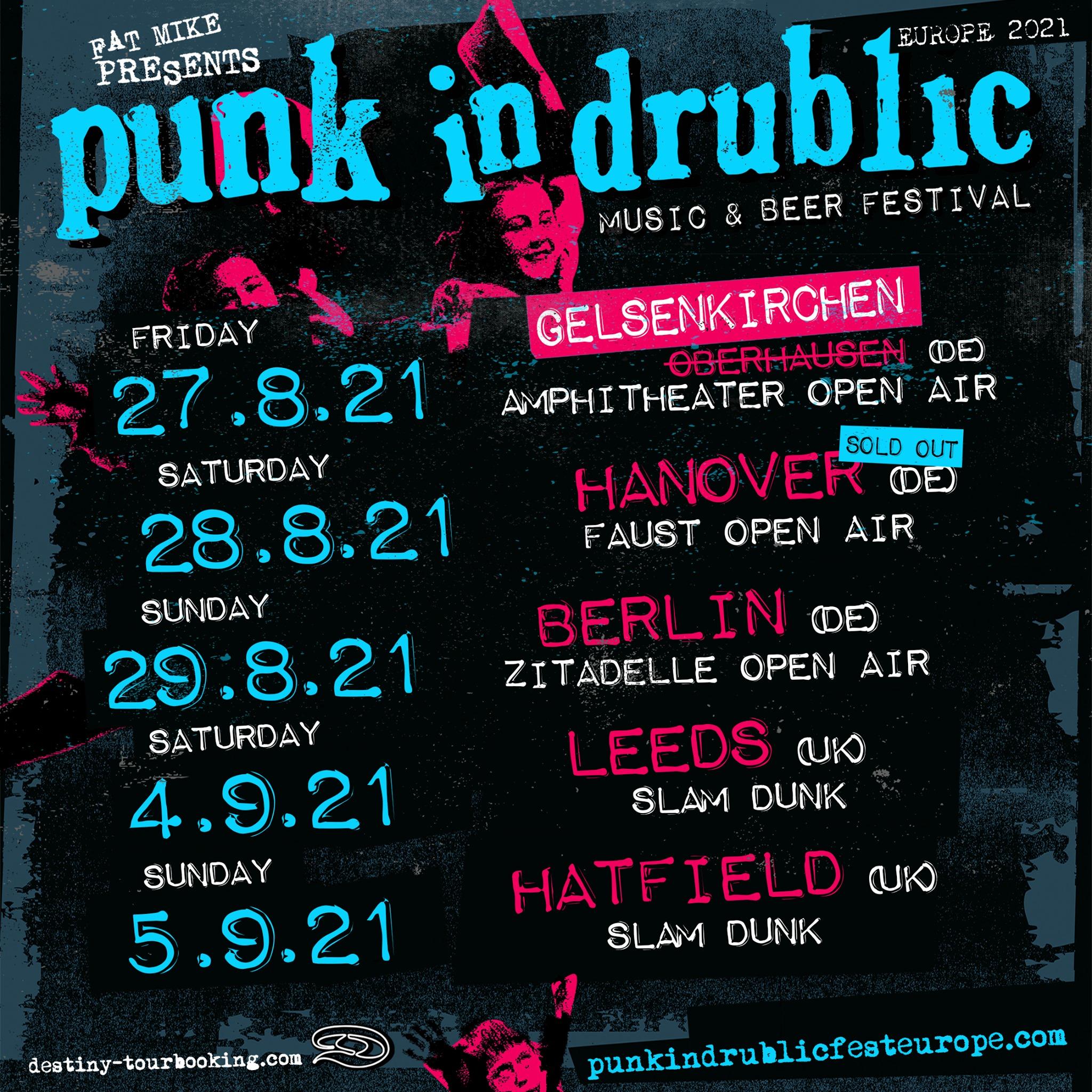Punk In Drublic 2022 mit ersten Open-Air-Terminen