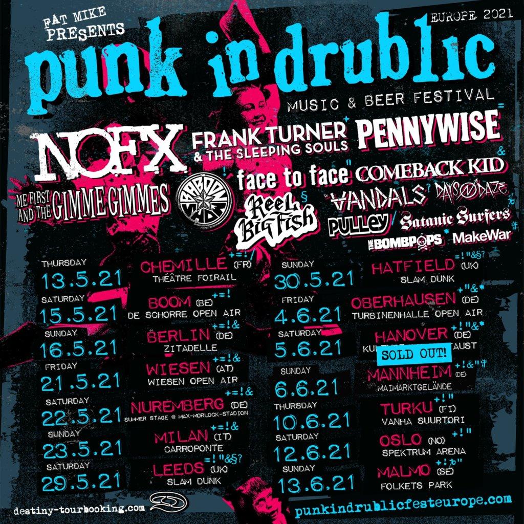 Punk In Drublic Update 2021